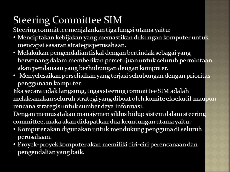 Steering Committee SIM