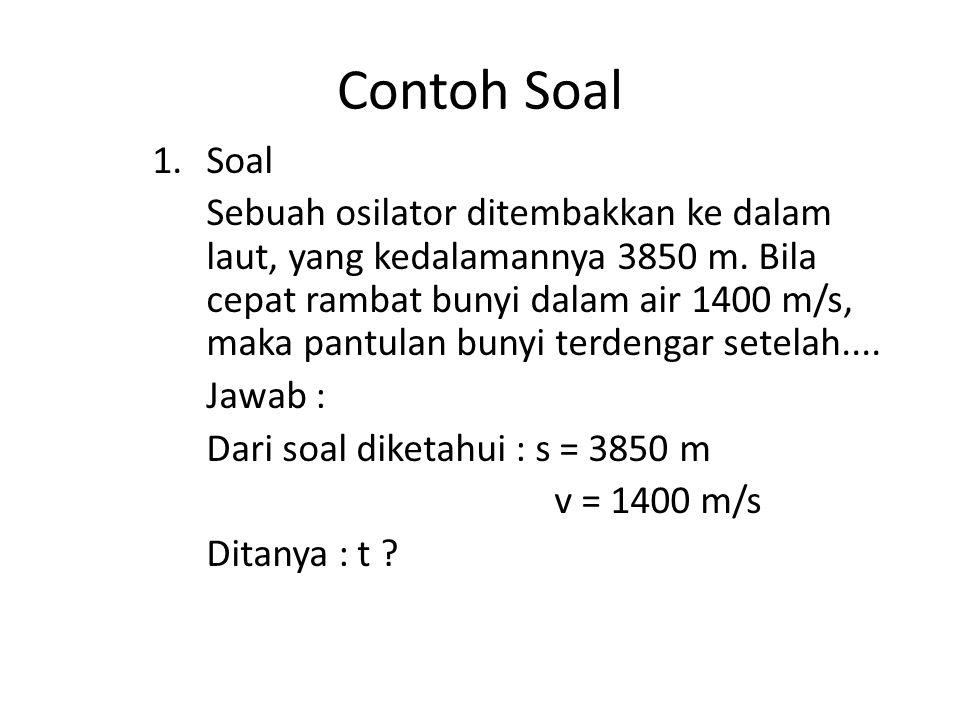 Contoh Soal Soal.