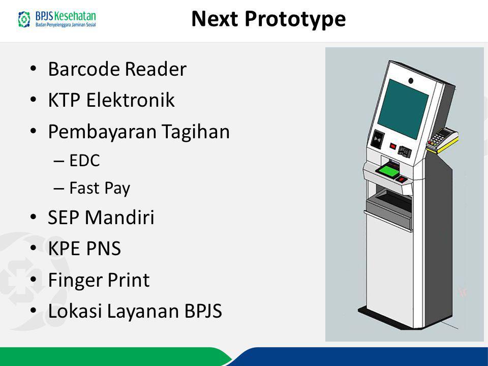 Next Prototype Barcode Reader KTP Elektronik Pembayaran Tagihan
