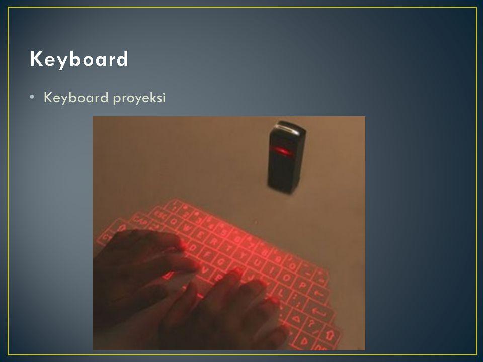 Keyboard Keyboard proyeksi