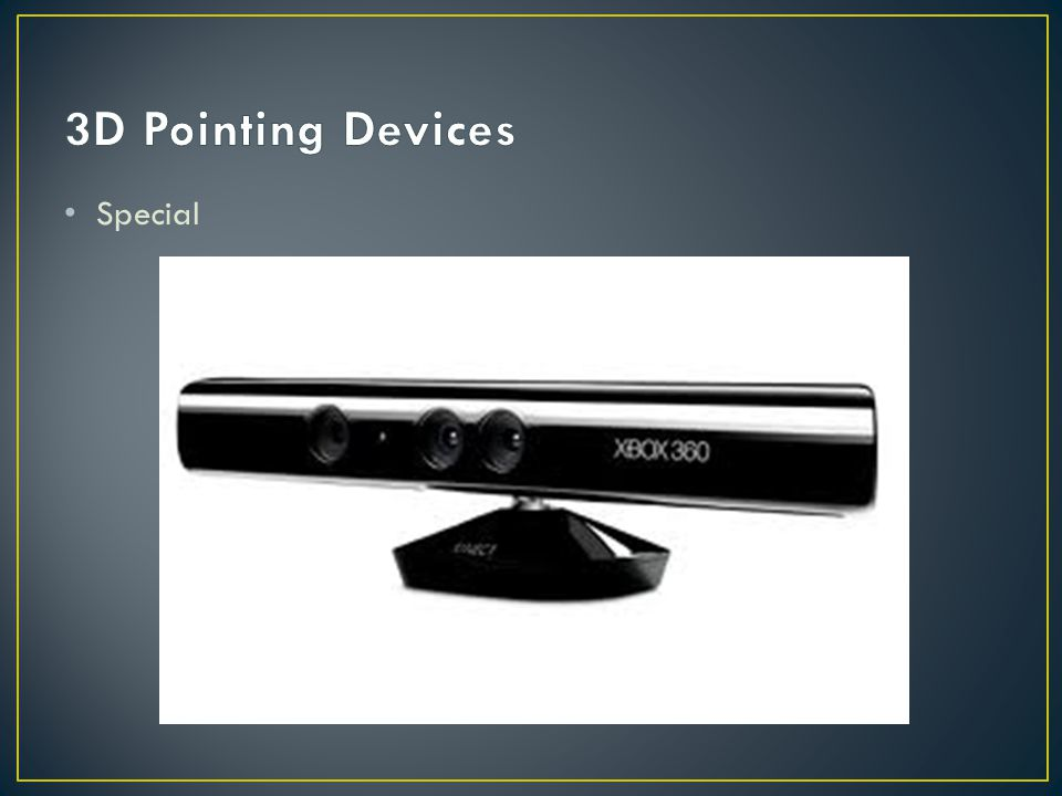 3D Pointing Devices Special
