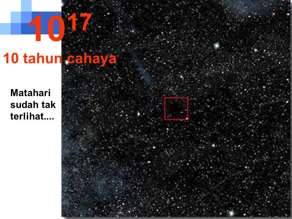 1017 10 tahun cahaya Matahari sudah tak terlihat....