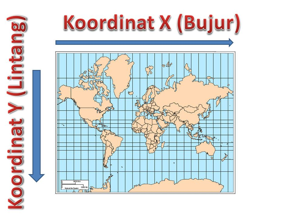 Koordinat X (Bujur) Koordinat Y (Lintang)