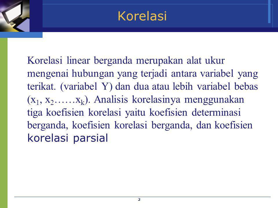 Korelasi