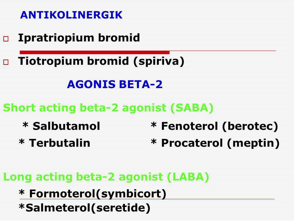 Tiotropium bromid (spiriva)