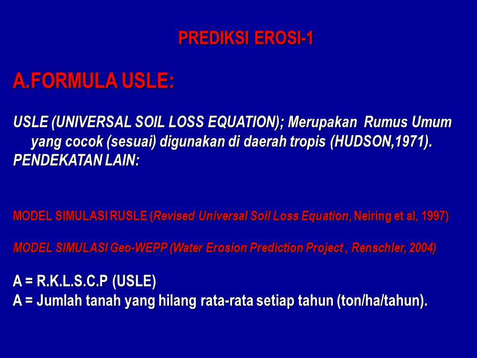 FORMULA USLE: PREDIKSI EROSI-1