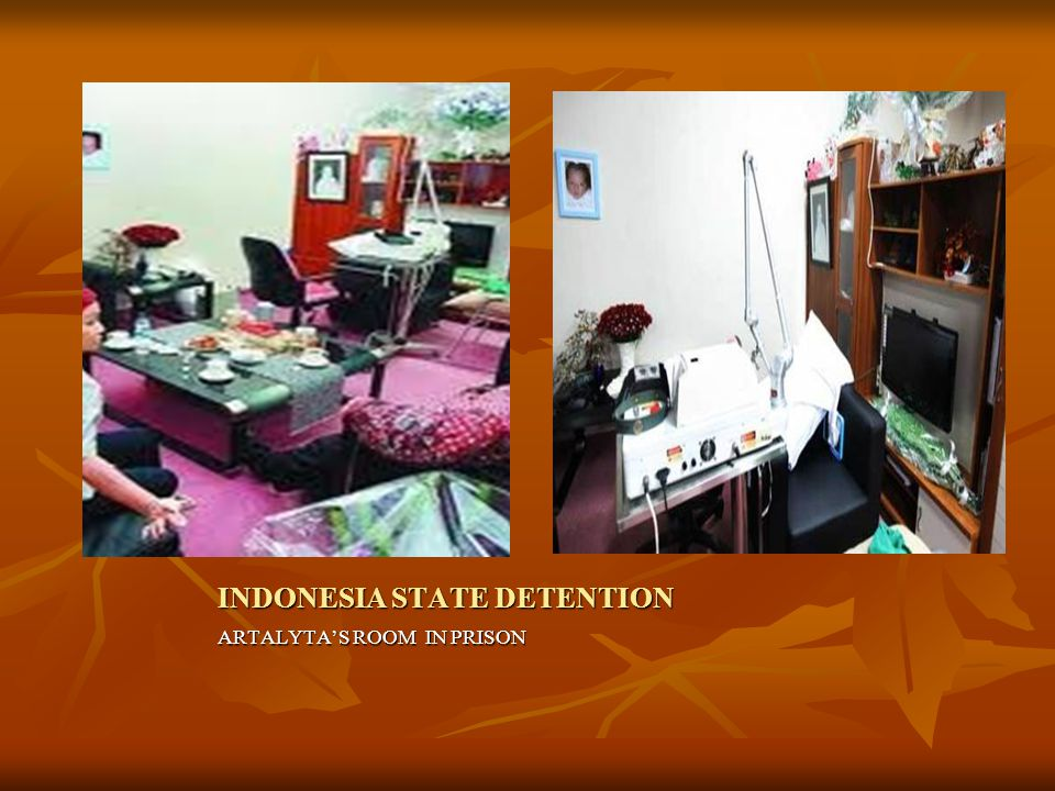 INDONESIA STATE DETENTION