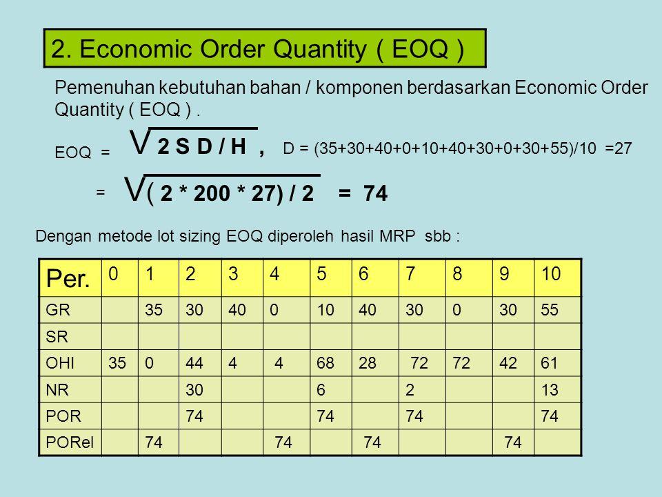 V 2 S D / H , D = (35+30+40+0+10+40+30+0+30+55)/10 =27