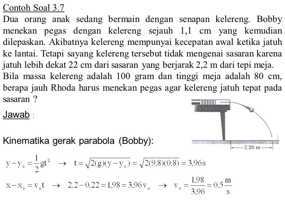 Contoh Soal 3.7