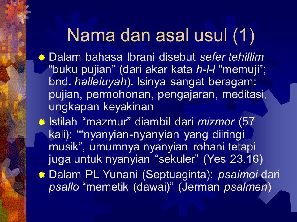 Nama dan asal usul (1)