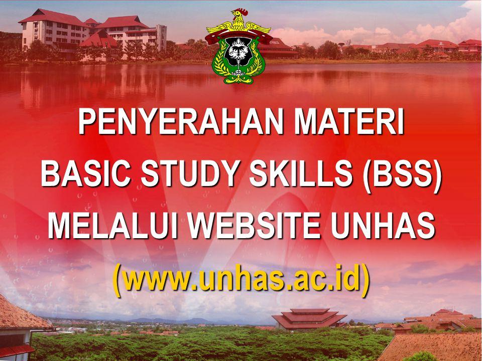 BASIC STUDY SKILLS (BSS)