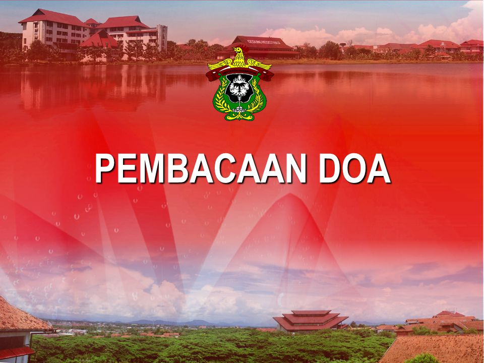 PEMBACAAN DOA Makassar, 30 Maret 2007