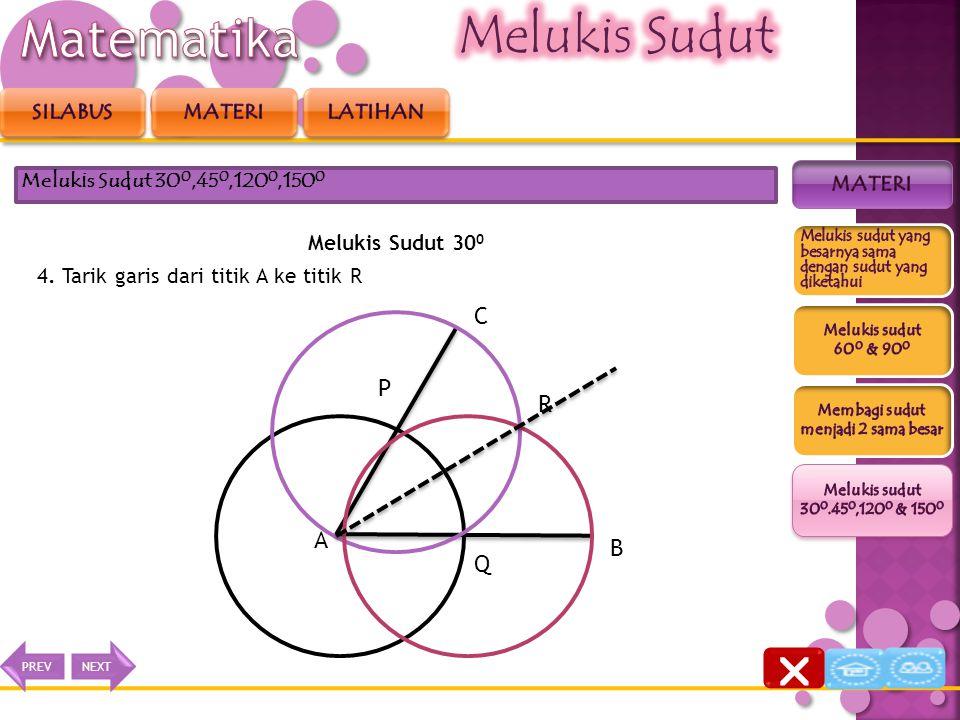 Matematika Melukis Sudut  C P R A B Q Silabus Materi latihan materi