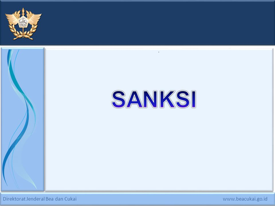 . SANKSI