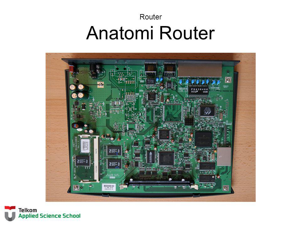 Router Anatomi Router Section 6.3.1
