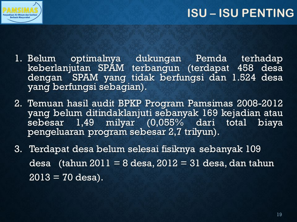 ISU – ISU PENTING