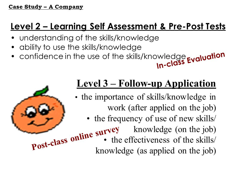 Level 3 – Follow-up Application