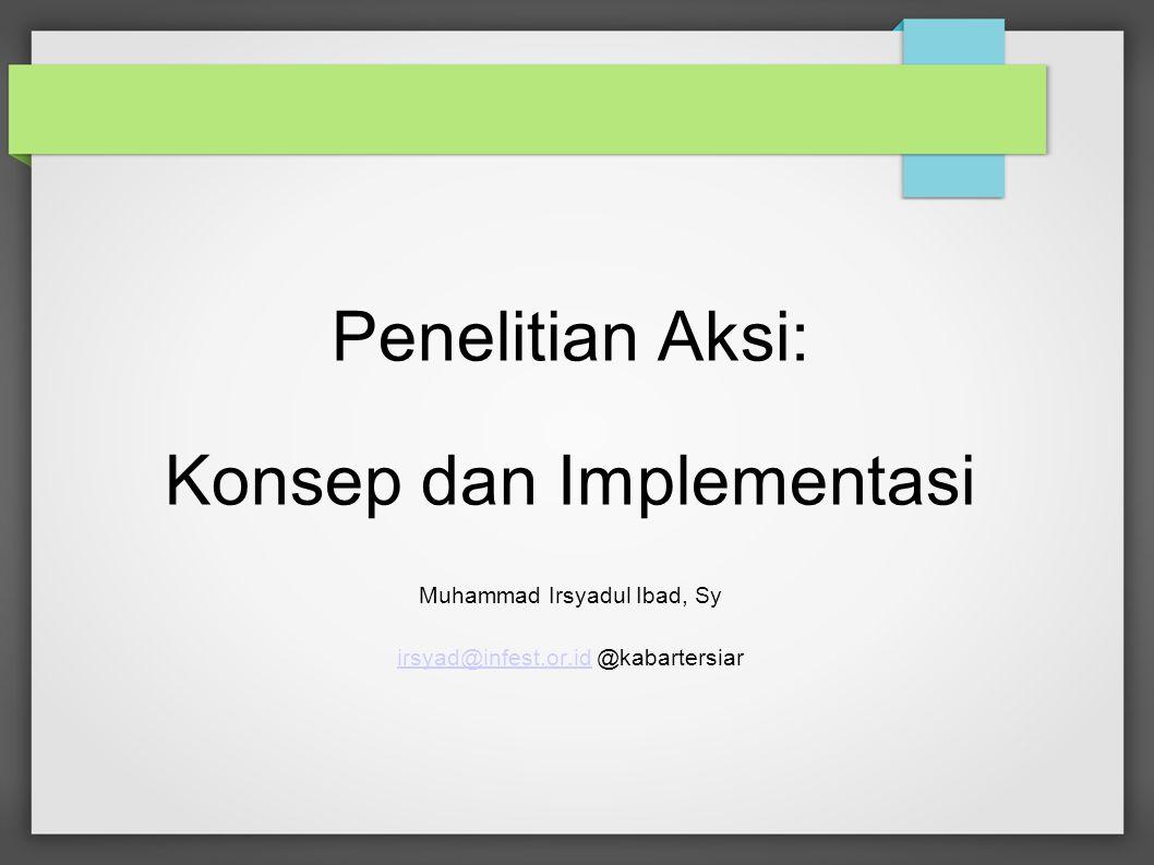 Konsep dan Implementasi