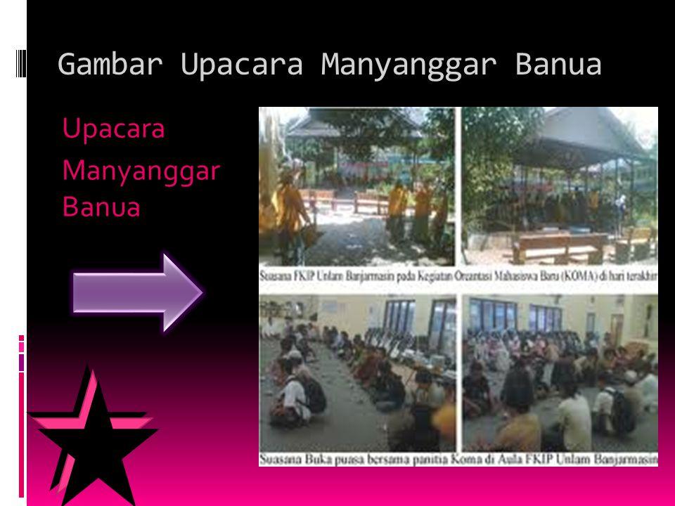 Gambar Upacara Manyanggar Banua