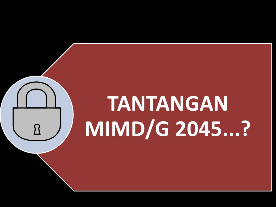 TANTANGAN MIMD/G 2045...