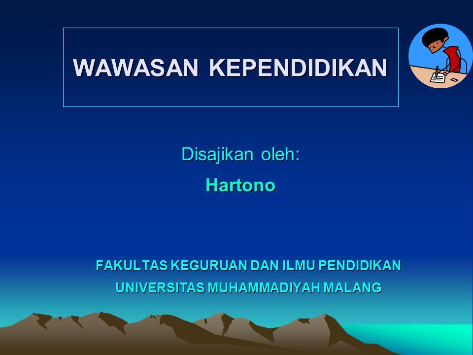 Disajikan oleh: Hartono