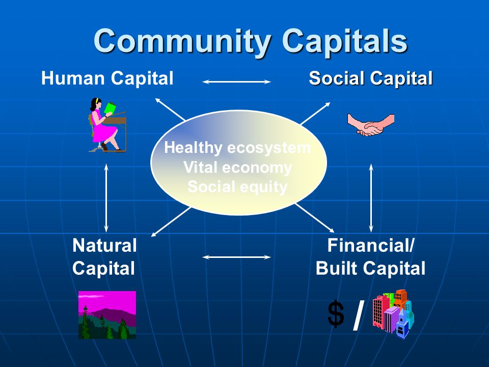 / Community Capitals Human Capital Natural Capital Social Capital