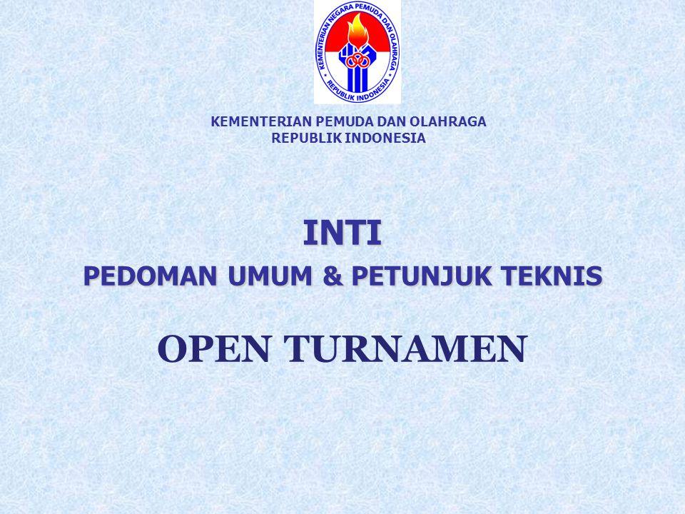 KEMENTERIAN PEMUDA DAN OLAHRAGA REPUBLIK INDONESIA