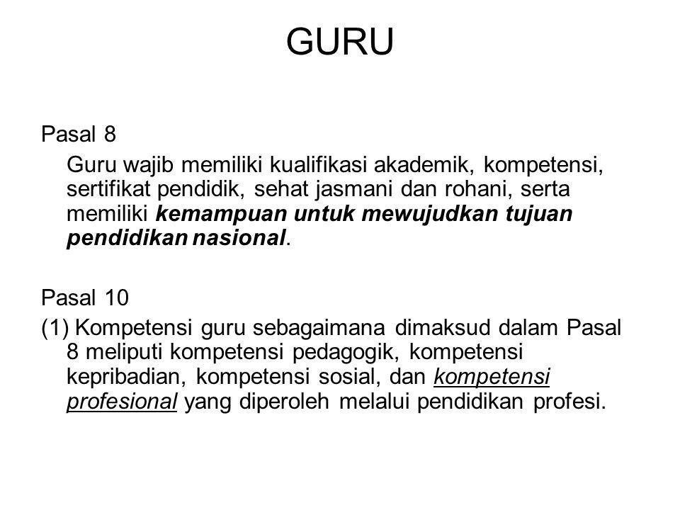 GURU Pasal 8.