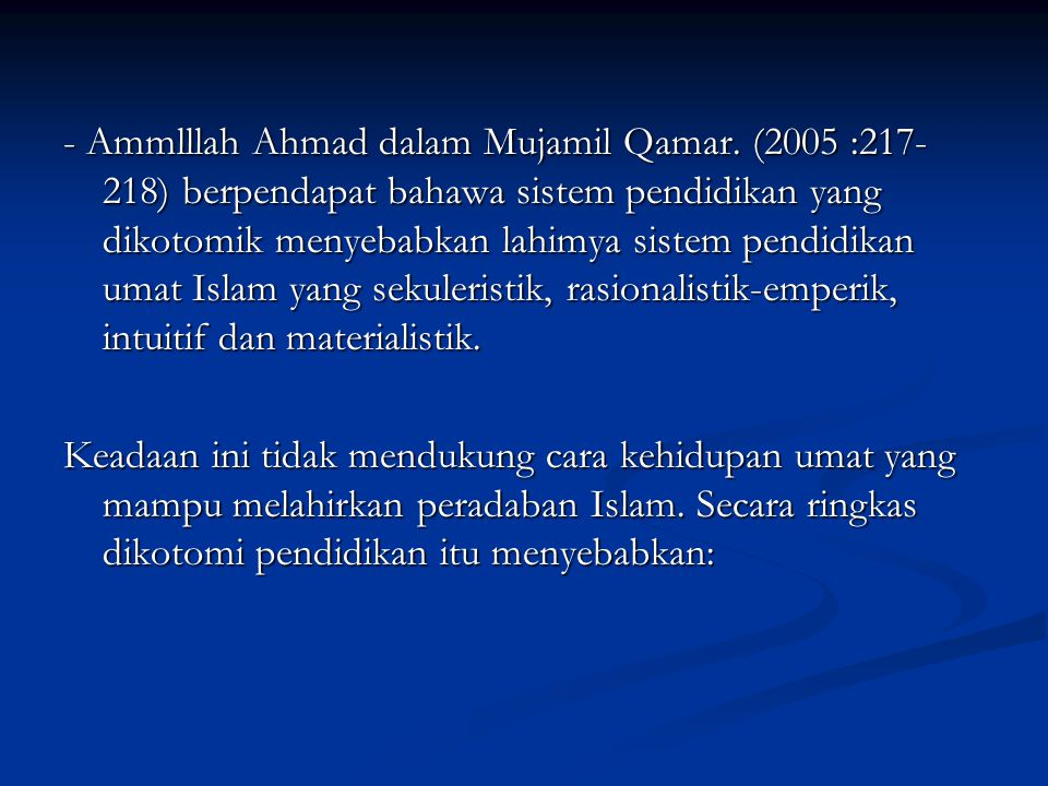 - Ammlllah Ahmad dalam Mujamil Qamar