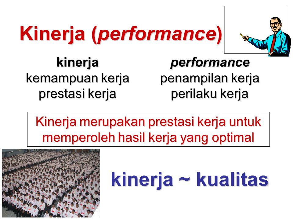 Kinerja (performance)