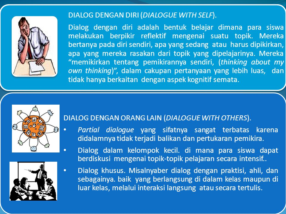 DIALOG DENGAN DIRI (DIALOGUE WITH SELF).