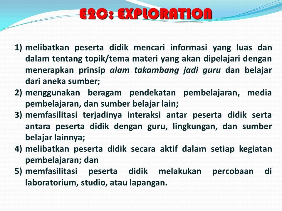 E2C: EXPLORATION