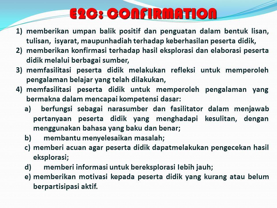 E2C: CONFIRMATION