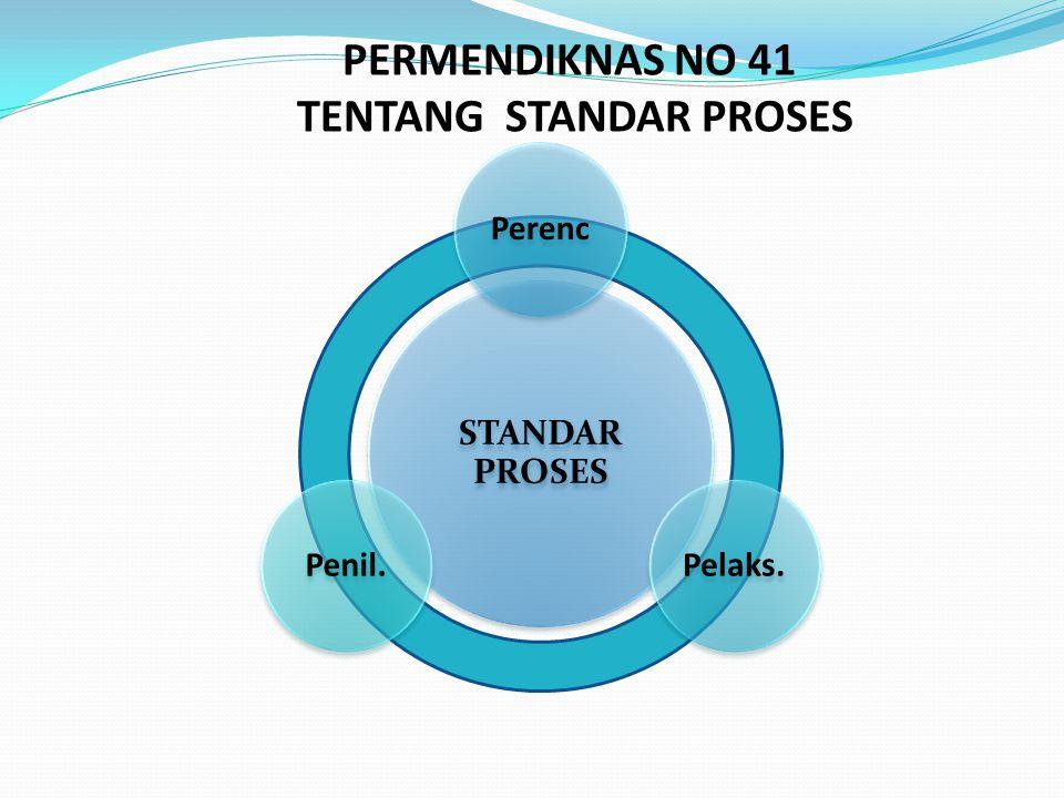 TENTANG STANDAR PROSES