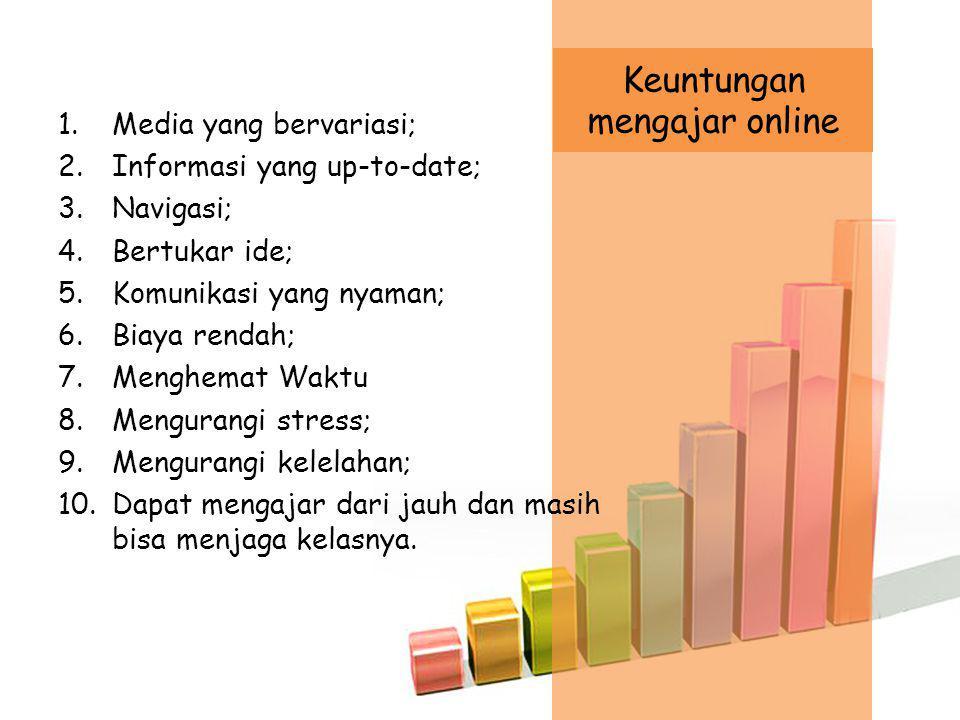 Keuntungan mengajar online