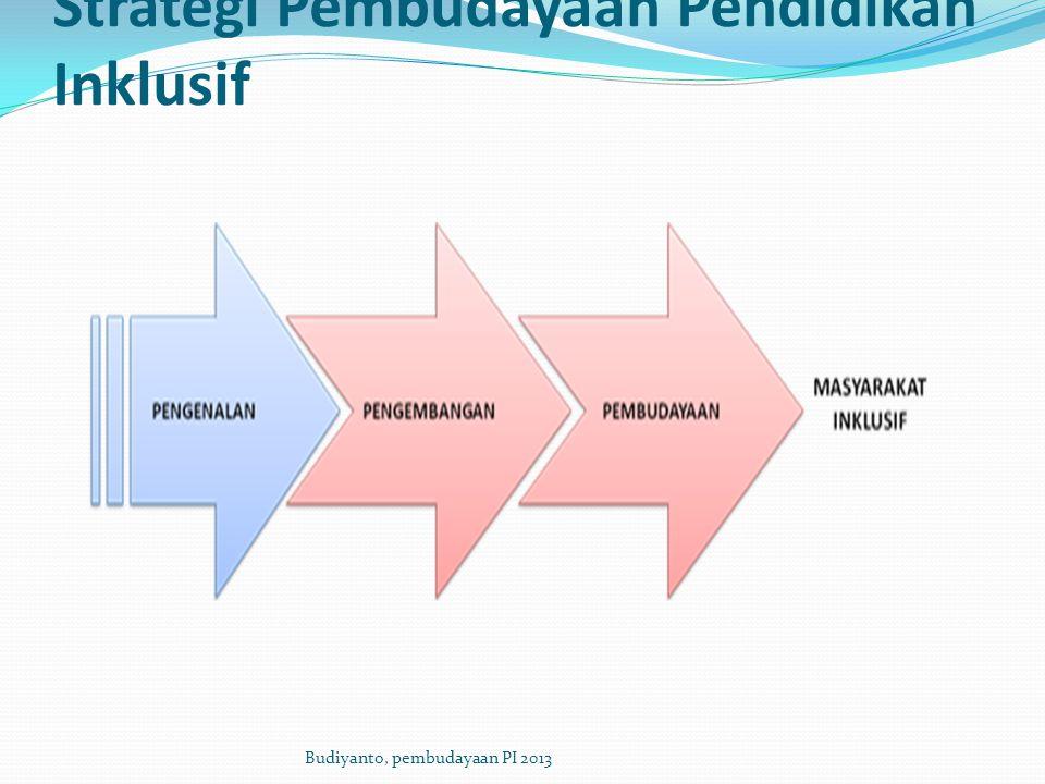 Strategi Pembudayaan Pendidikan Inklusif