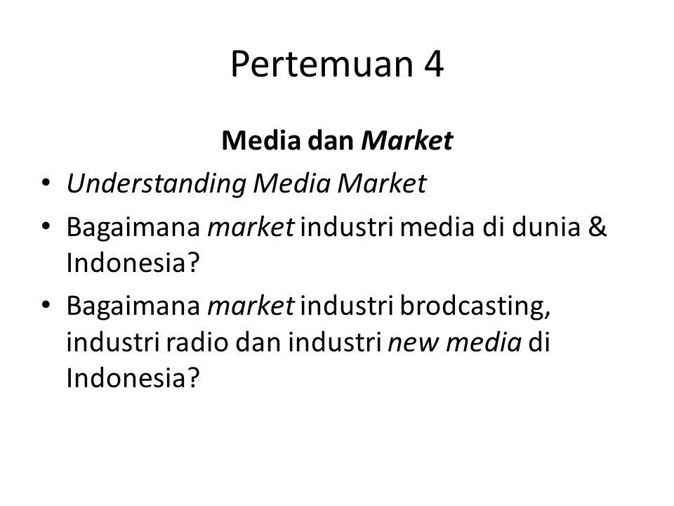 Pertemuan 4 Media dan Market Understanding Media Market