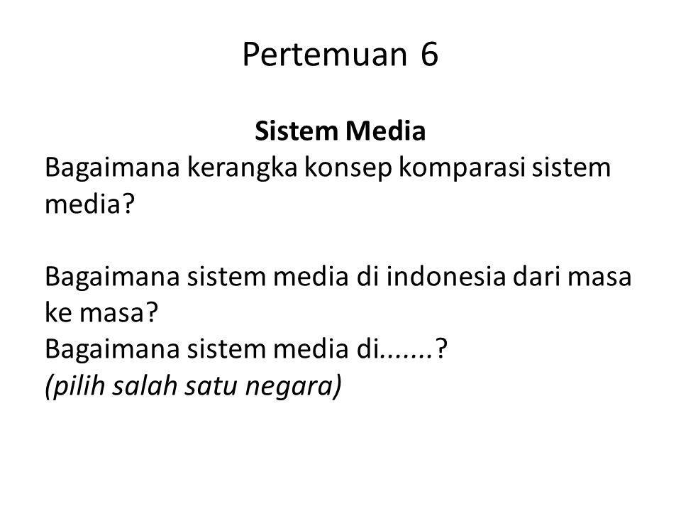 Pertemuan 6 Sistem Media