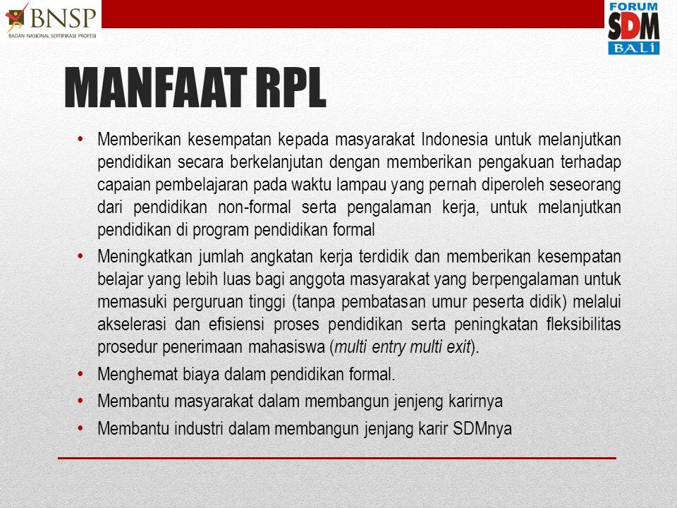 MANFAAT RPL