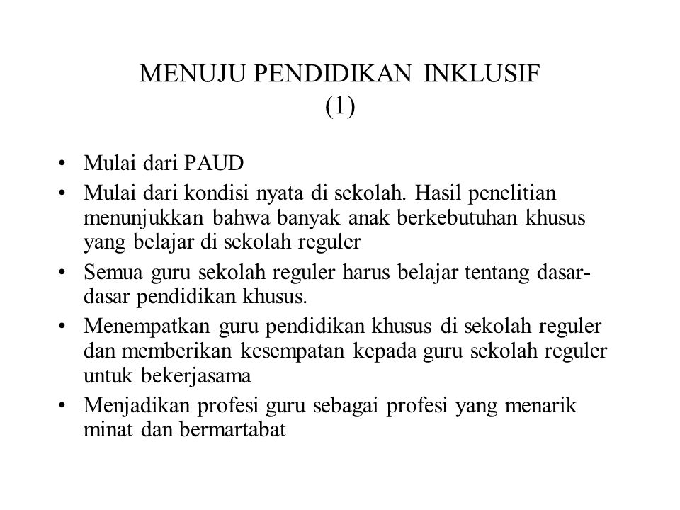 MENUJU PENDIDIKAN INKLUSIF (1)