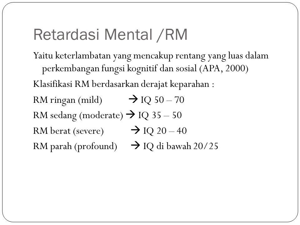 Retardasi Mental /RM