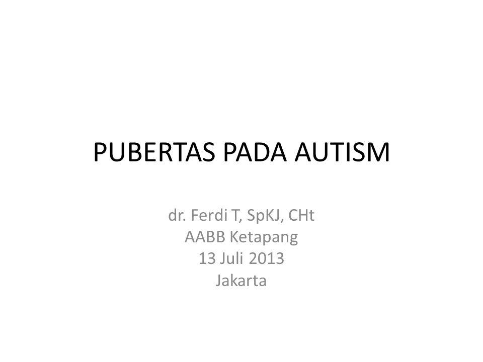dr. Ferdi T, SpKJ, CHt AABB Ketapang 13 Juli 2013 Jakarta