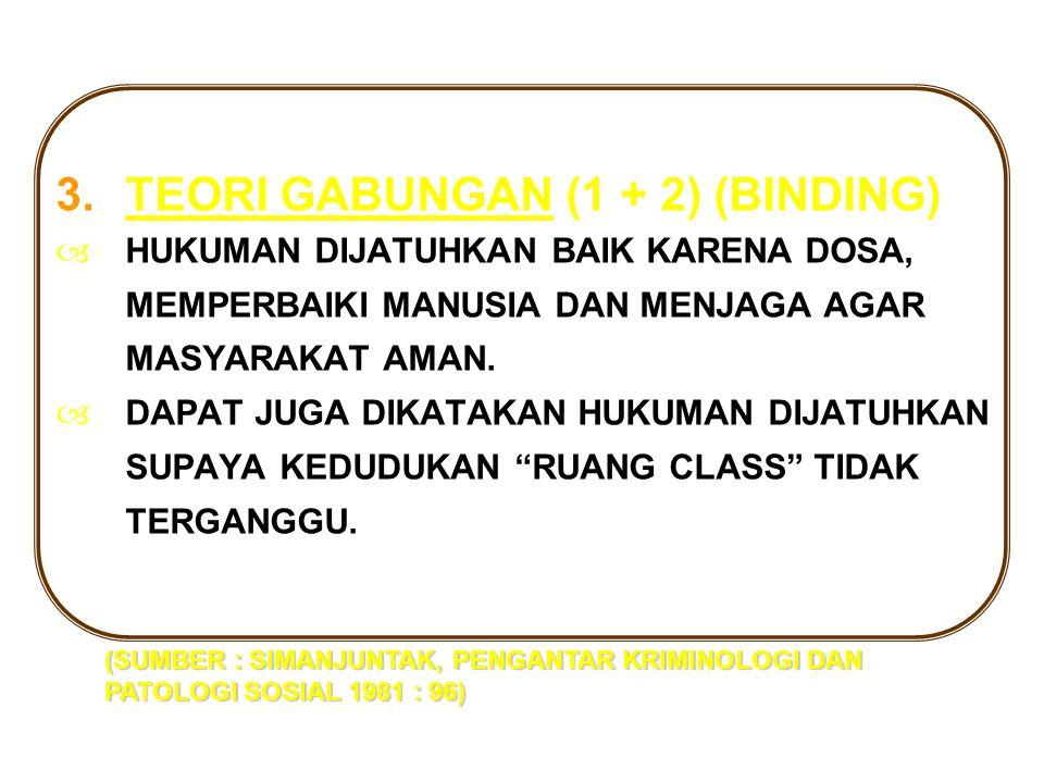 TEORI GABUNGAN (1 + 2) (BINDING)