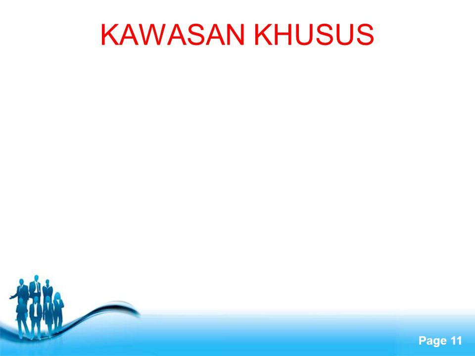 KAWASAN KHUSUS