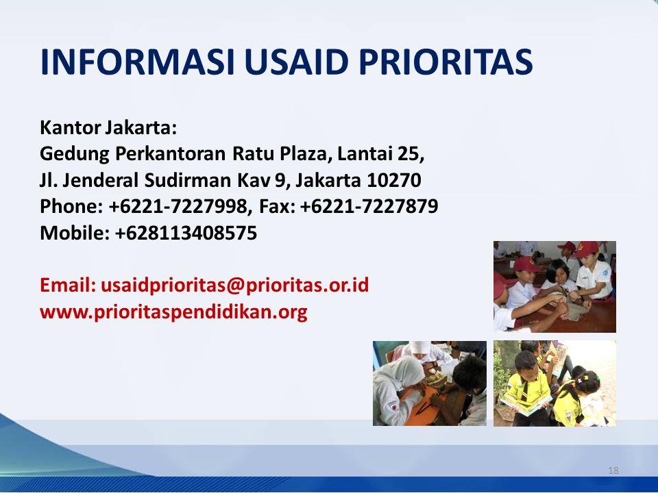 INFORMASI USAID PRIORITAS
