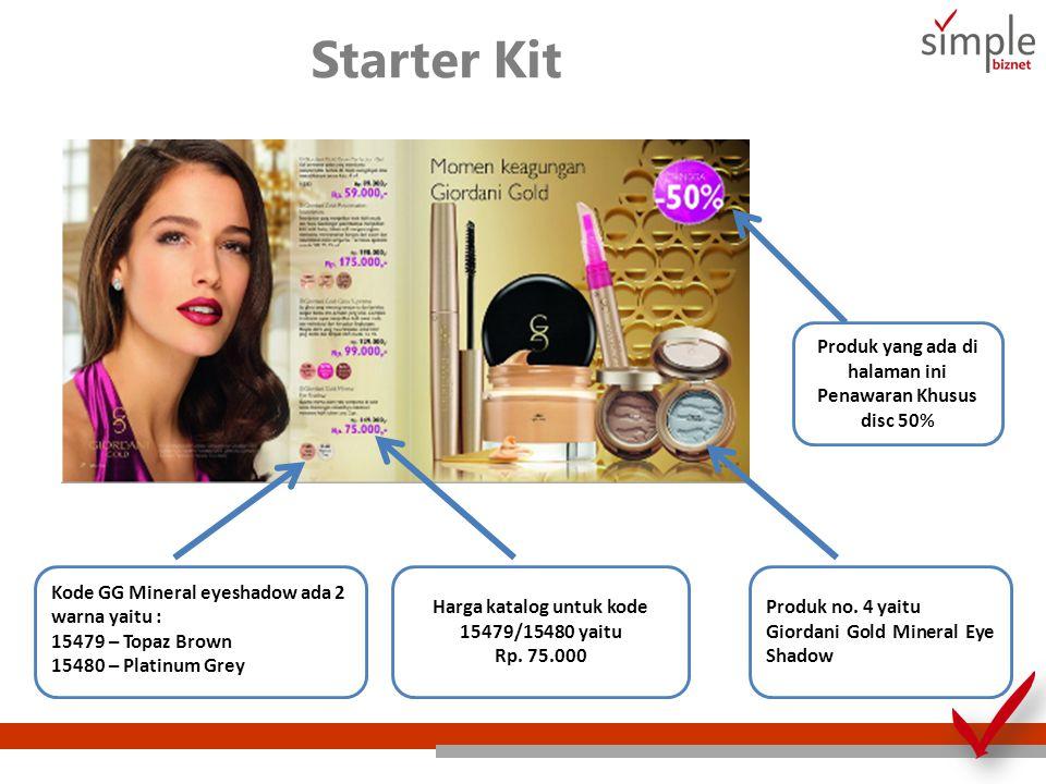 Starter Kit Produk yang ada di halaman ini Penawaran Khusus disc 50%