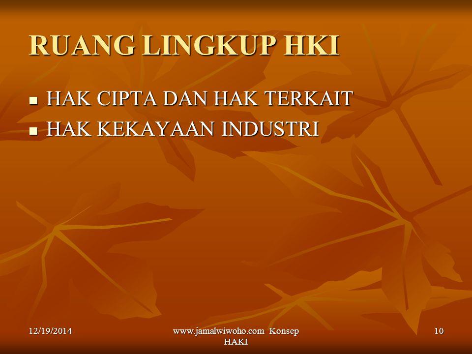 www.jamalwiwoho.com Konsep HAKI
