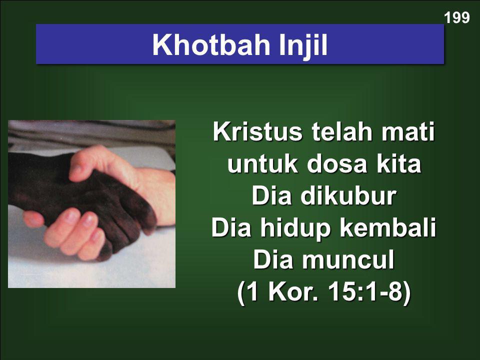 199 Khotbah Injil.