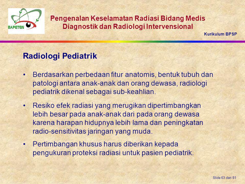 Radiologi Pediatrik