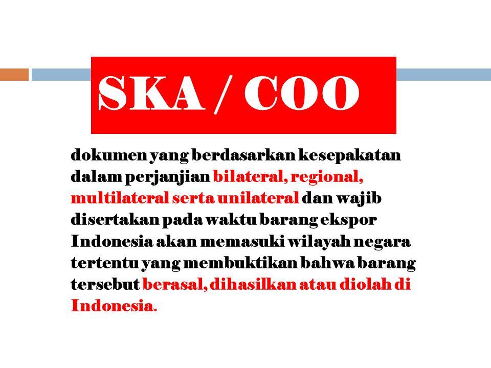 SKA / COO